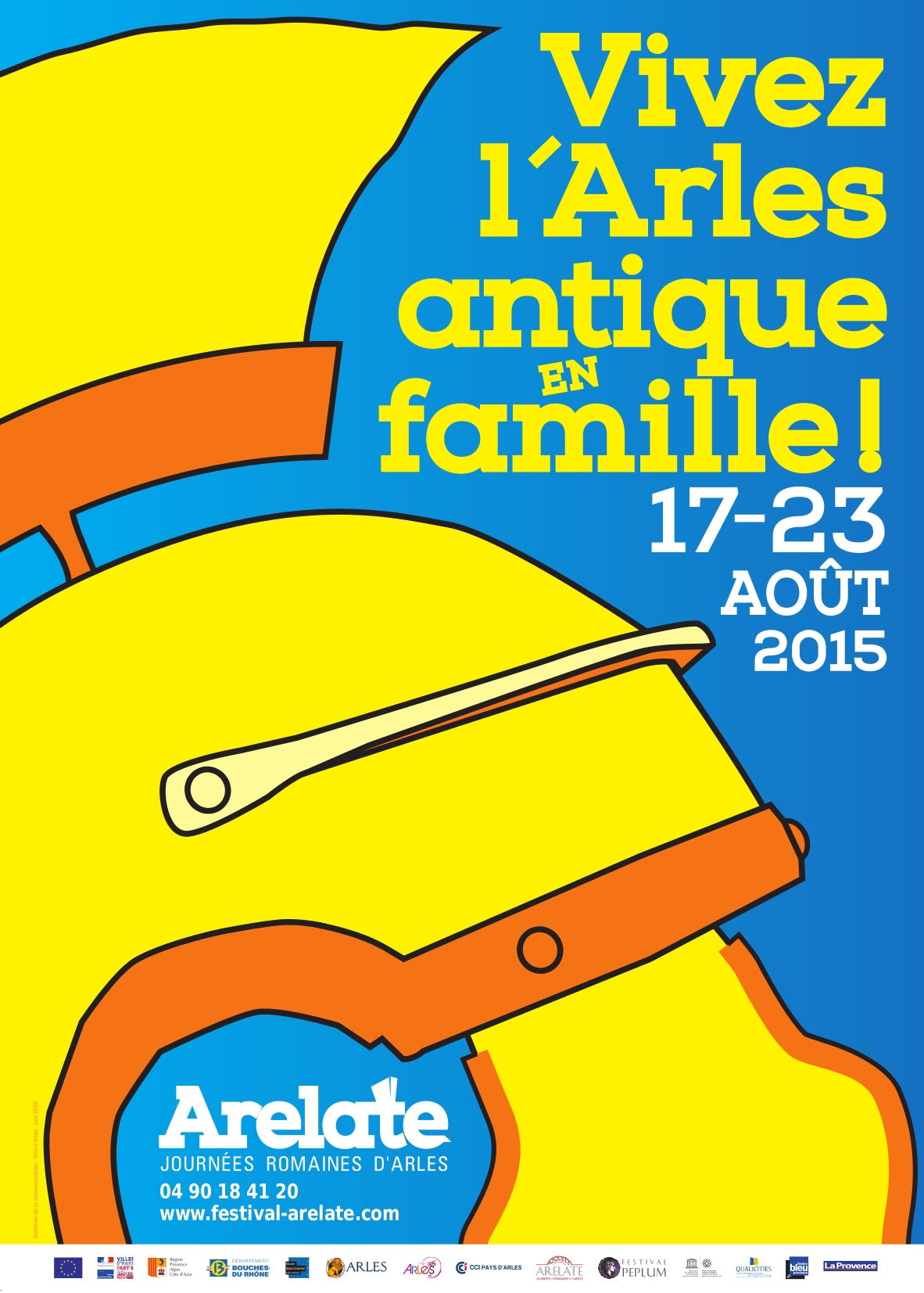 Affiche Arelate 2015